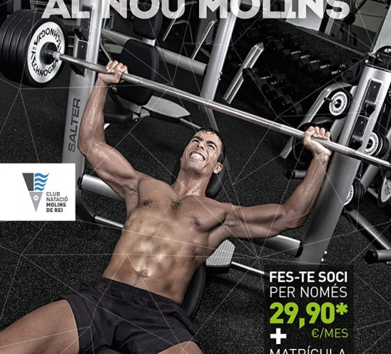 Campaña 2015 Club Natació Molins