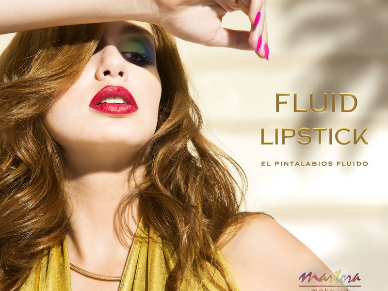 Martora Makeup Fluid Lipstick - Summer 2015