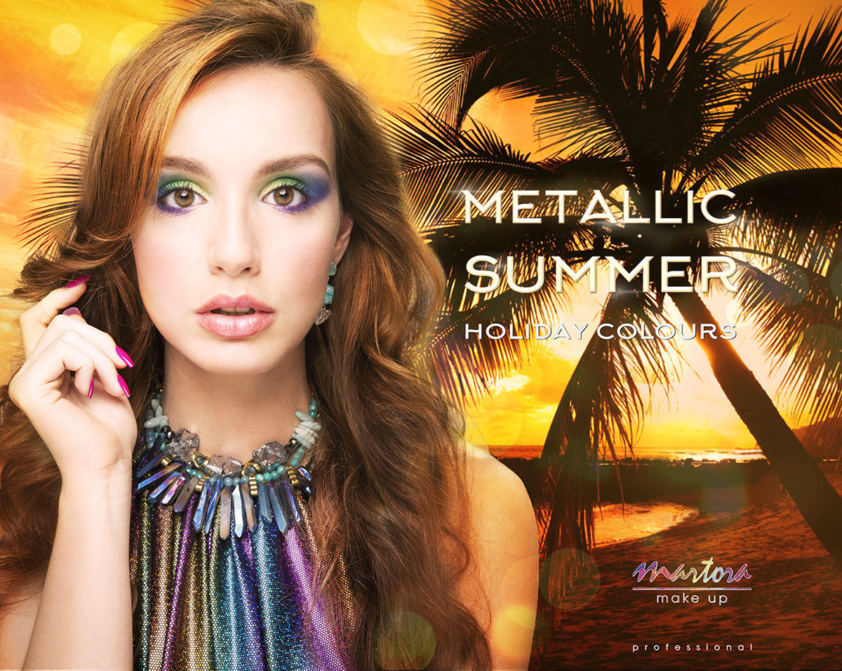Martora Makeup Metallic Summer 2015